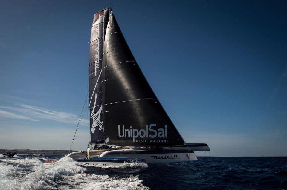 MASERATI MULTI70 AND PHAEDO3 HEAD-TO-HEAD OFF SIRACUSA