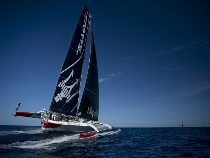 Maserati Multi70 - Ready for the next fly