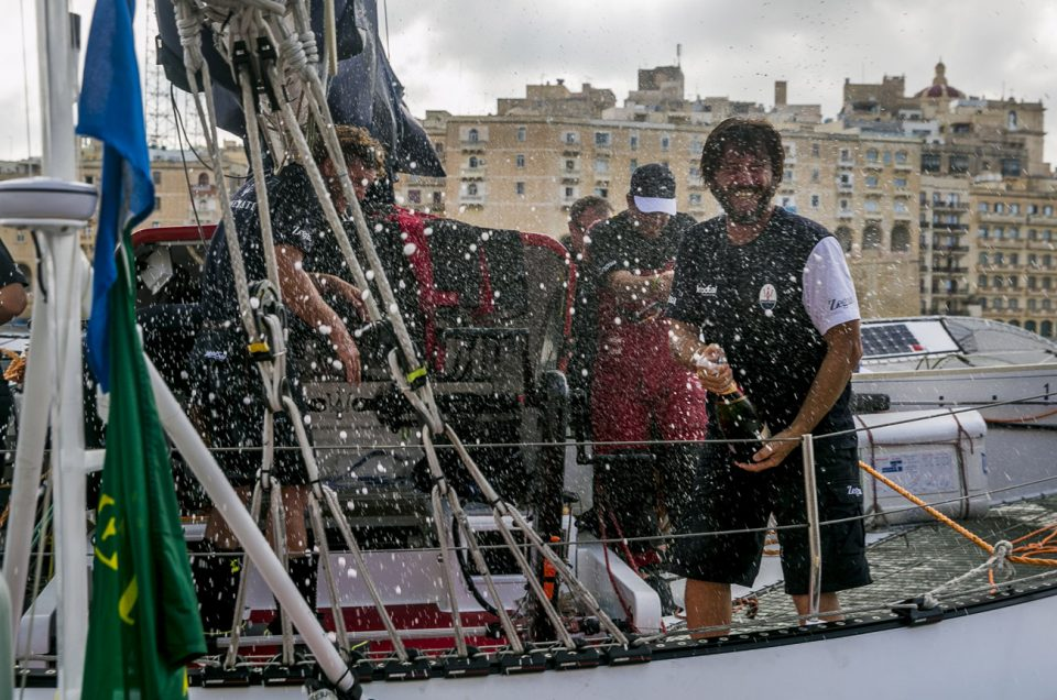 Maserati Multi70: victory and multihull record in the RMSR