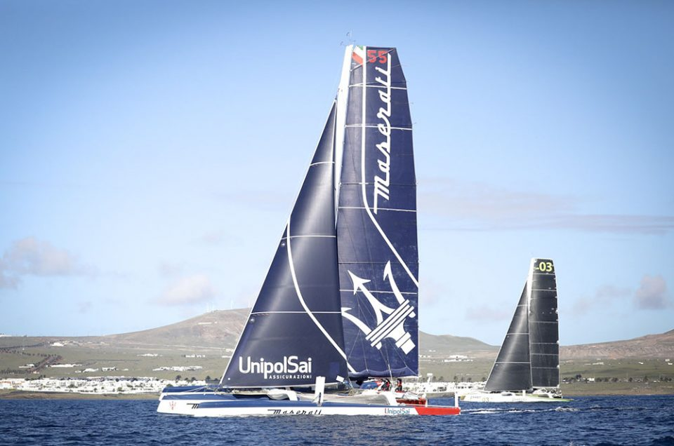 First ocean race for Maserati Multi70