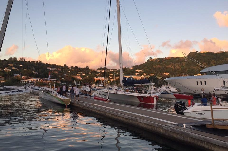 Maserati Multi70 sails into Grenada
