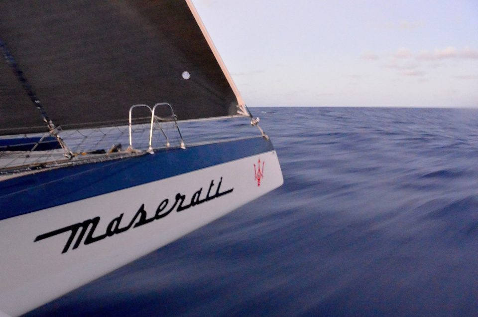 Maserati Multi70 now 142 miles off Grenada