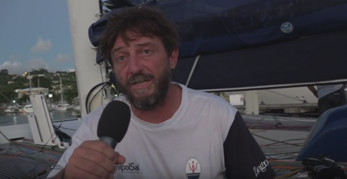 RORC, Dec '16 / Giovanni Soldini interview