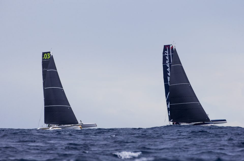 Maserati Multi70: huge strides made in trimaran's ocean foiling during RORC Caribbean 600 Race