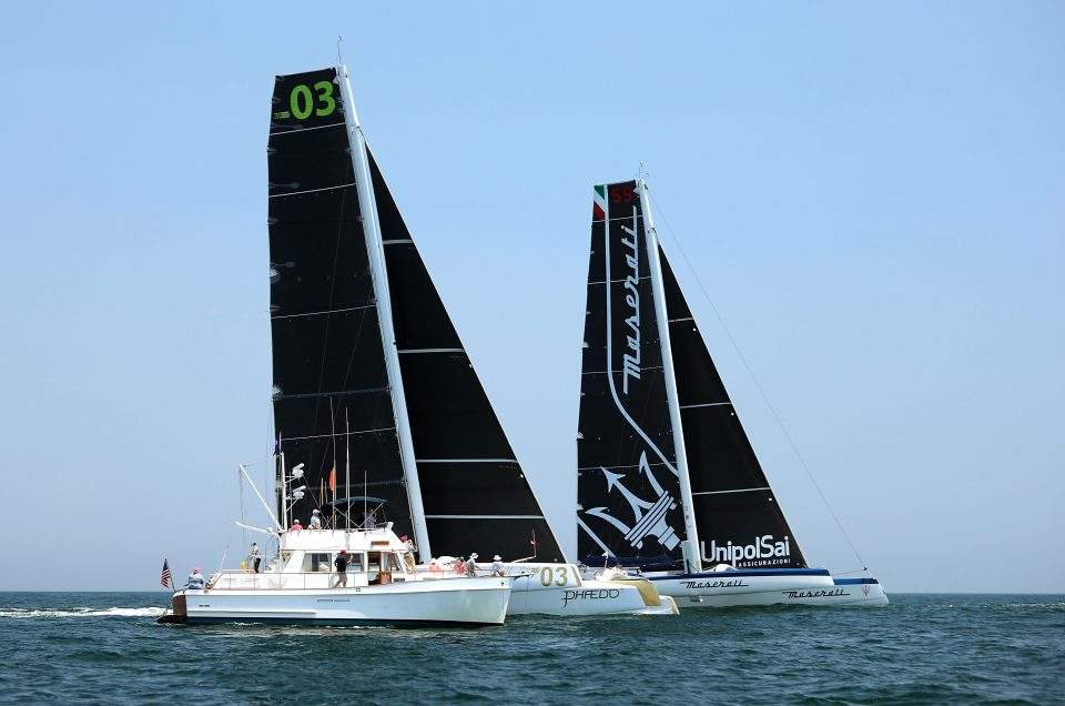 A light wind start – but fast trade wind sailing is not far away.