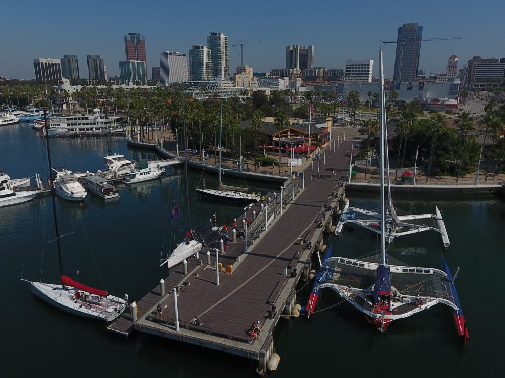 TRANSPACIFIC YACHT RACE / LOS ANGELES, 5th JULY 2017