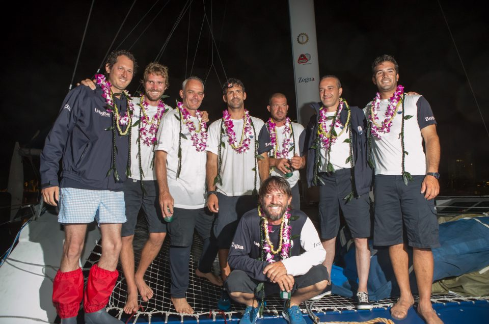 Third place for MaseratiMulti70 at the Transpac Race finish in Hawaii