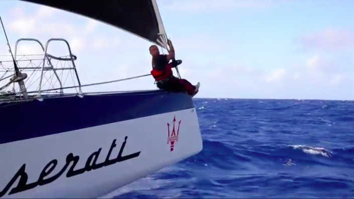 Maserati Multi70 - In the middle of the Pacific