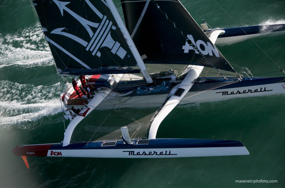 Postponed departure for Maserati Multi70