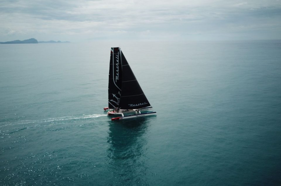 Hong Kong-London / Maserati Multi70 enters the Indian Ocean