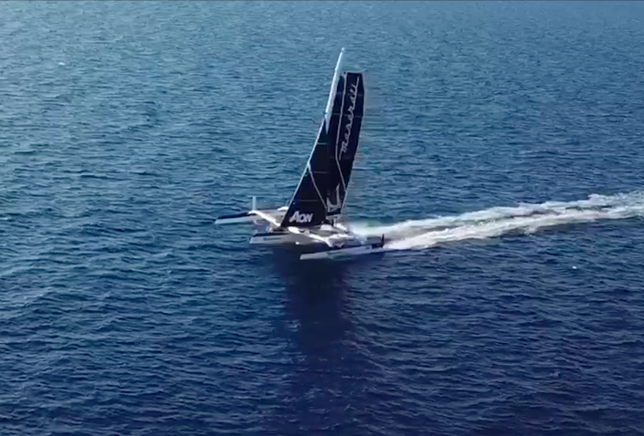 Maserati Multi 70 - The tests on the new rudder's system are complete