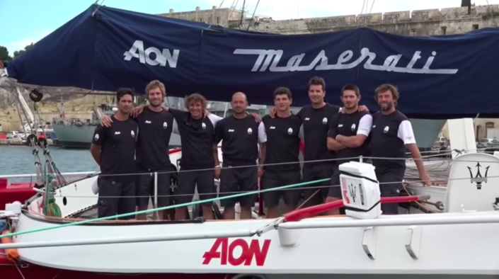 Maserati Multi 70 - Rolex Middle Sea Race 2018 - Training
