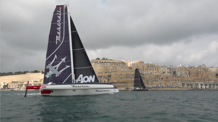 Maserati Multi 70 - Rolex Middle Sea Race 2018 - Recap