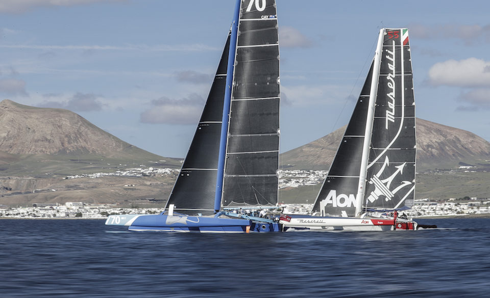 È partita la RORC Transatlantic Race: il Team di Maserati Multi 70 è pronto alla sfida con PowerPlay