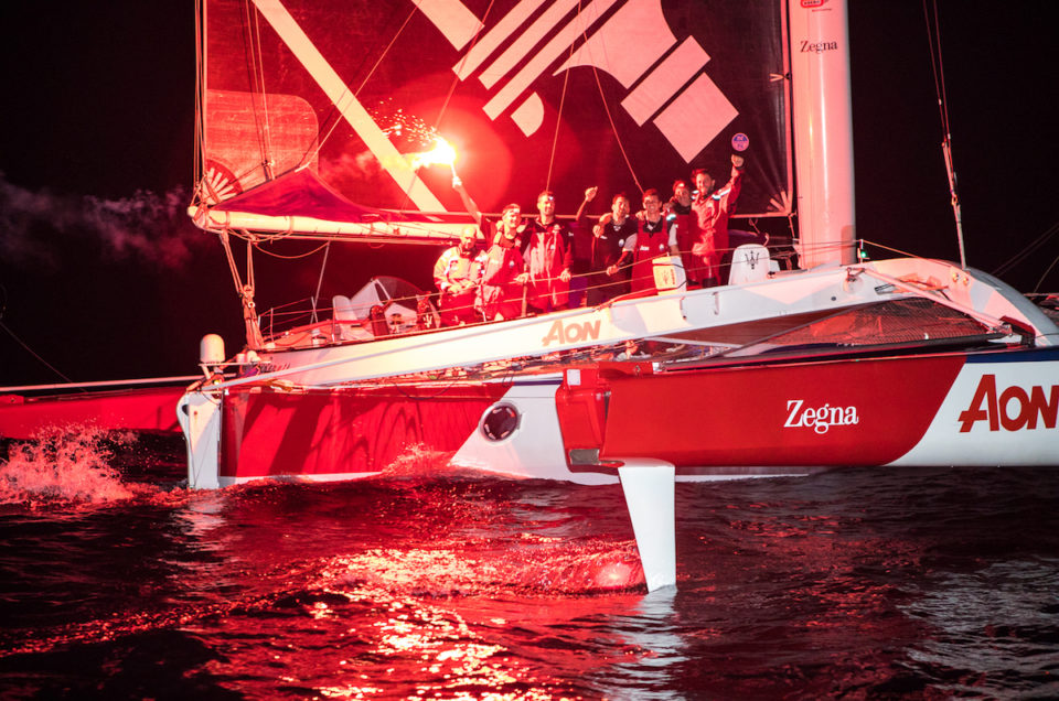 Maserati Multi 70 completes the RORC Transatlantic Race in 6 days, 18 hours, 54 minutes and 34 seconds