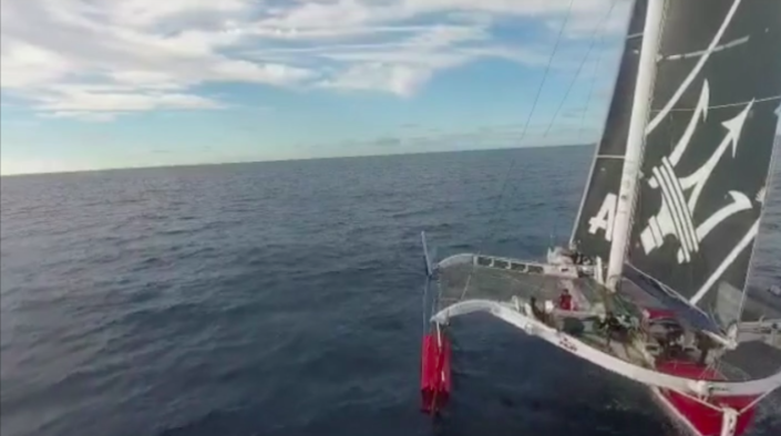 Maserati Multi 70 - RORC Transatlantic Race - Day 1