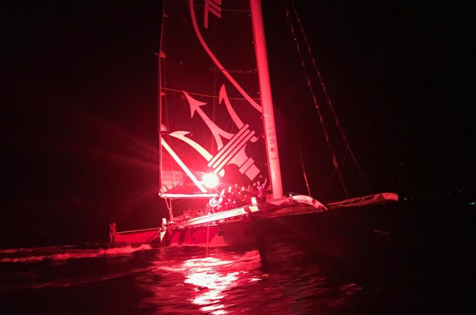 Maserati Multi 70 crossed first the finish line of the 5th RORC Transatlantic Race