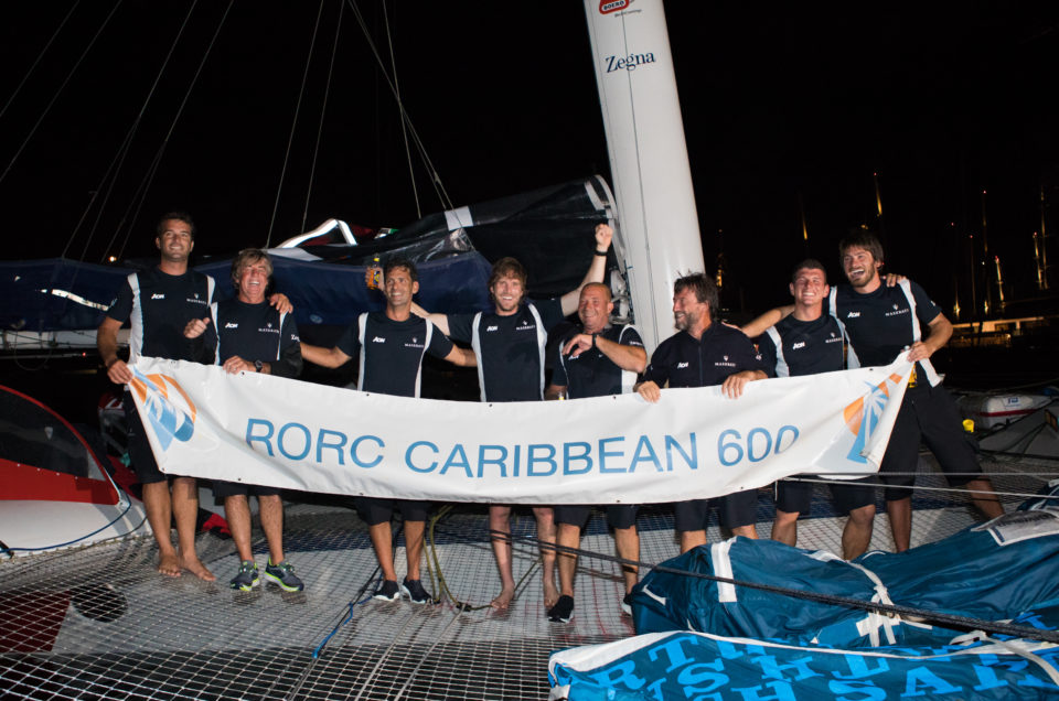 Multihull Line Honours for Maserati Multi 70 at the RORC Caribbean 600
