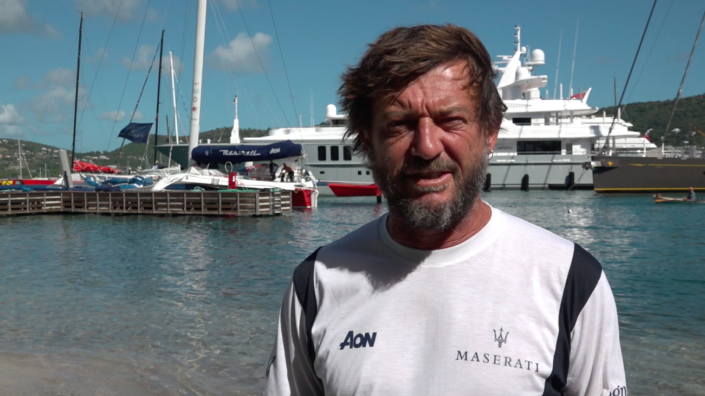 Maserati Multi 70 - Giovanni Soldini's comment before the RORC Caribbean 600
