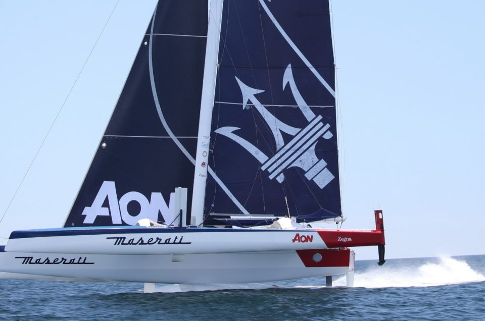 Maserati Multi 70 and Giovanni Soldini are ready for the RORC Caribbean 600