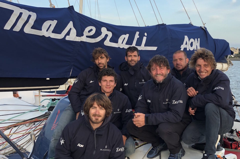 Maserati Multi 70's Team is ready for the start of the CA 500 tomorrow