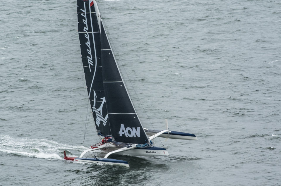 Maserati Multi 70 and Giovanni Soldini are in California for the 50th Transpacific Yacht Race
