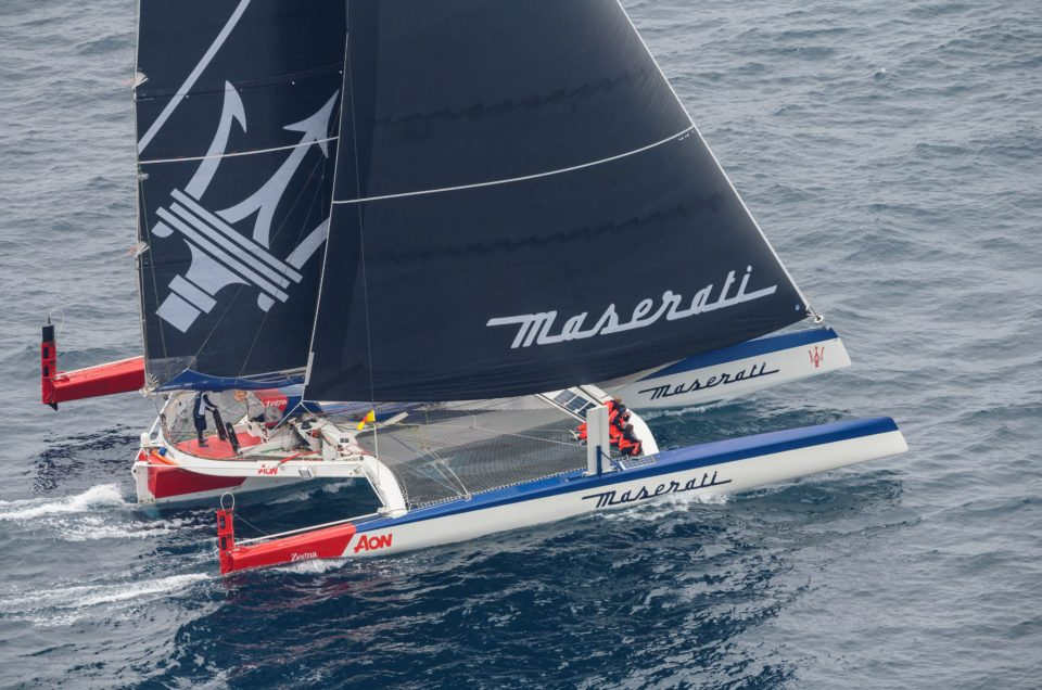 Ready, go! Maserati Multi 70's Team set sail for the Transpac