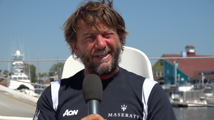 Maserati Multi 70 - Transpac 2019 - Interview before the start