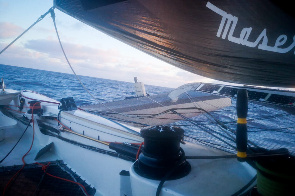 Maserati Multi 70's Team keeps going on the wake of its competitors