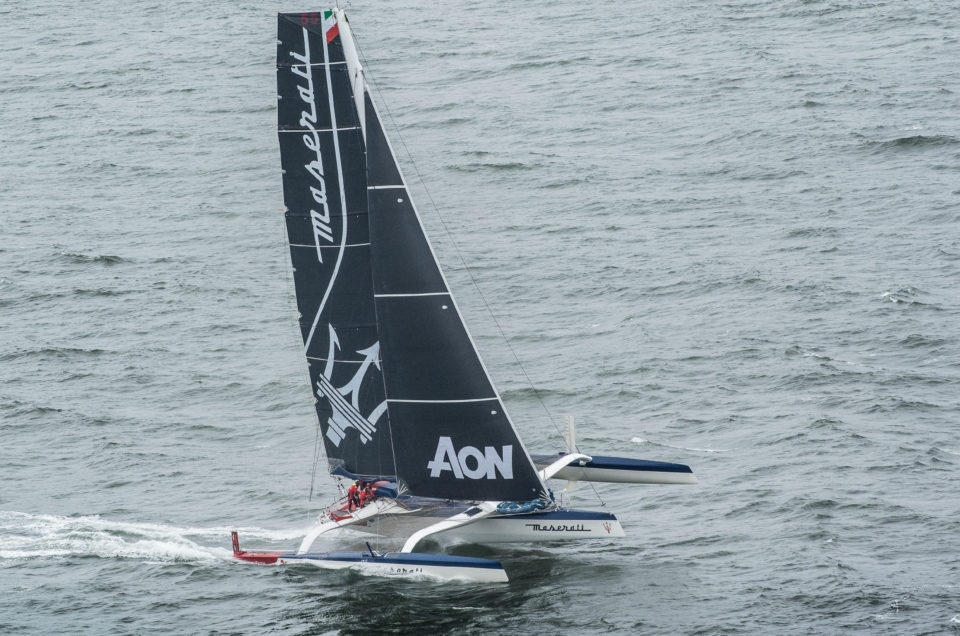 Maserati Multi 70 and Giovanni Soldini are ready for the 9th edition of the Hong Kong to Vietnam Race