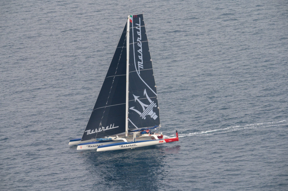 Maserati Multi 70 is 24 hours away from Hong Kong