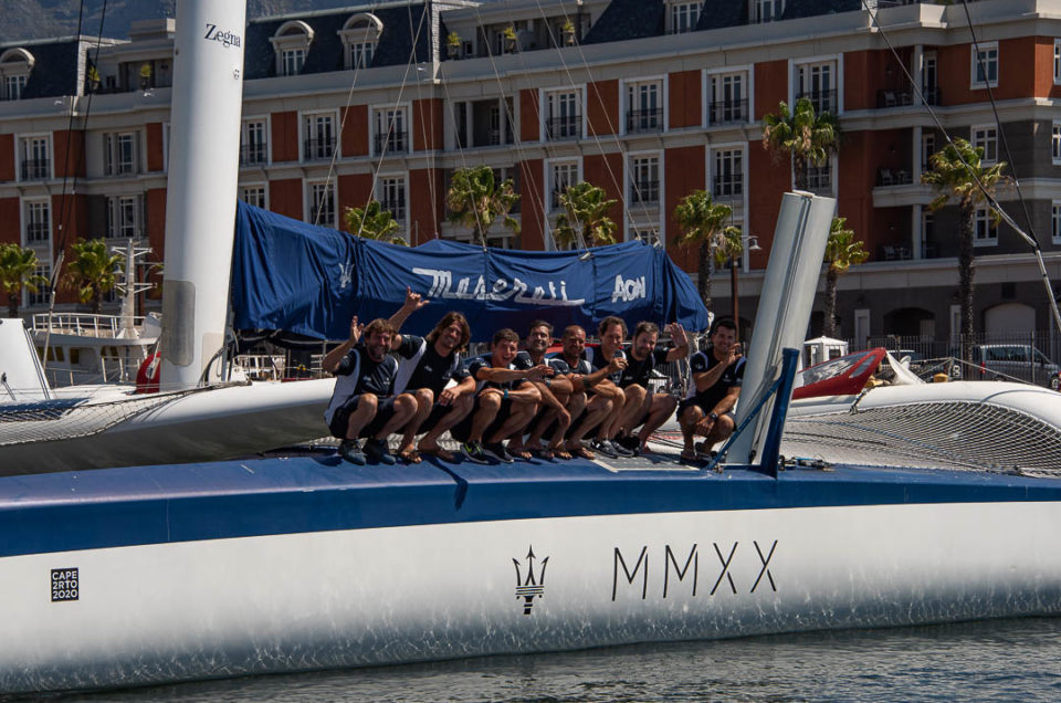 They're off! Maserati Multi 70 set sail for the 16th edition of the Cape 2 Rio