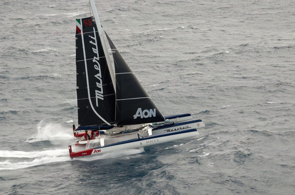 Maserati Multi 70 and Giovanni Soldini are in Antigua for the RORC Caribbean 600