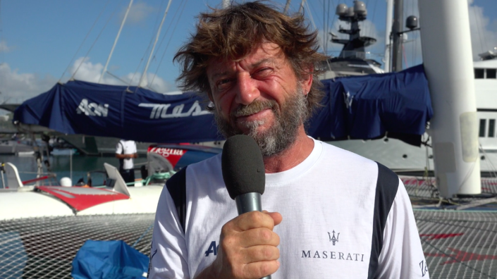 Maserati Multi 70 - RORC Caribbean 600 - Interview before the start