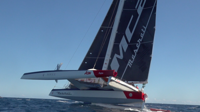 Maserati Multi 70 - Partenza della Rolex Middle Sea Race 2020