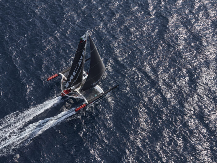 Maserati Multi 70 / Training in the Mediterranean