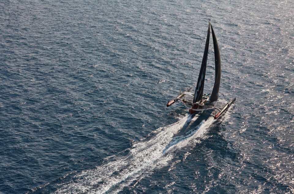 Maserati Multi 70 ready to set sail for the Fastnet Original Course record
